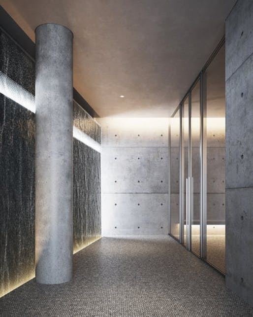 A rendering of an art installation at 152 Elizabeth Street by Tadao Ando. Credit Noë & Associates with The Boundary