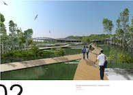 Bangpu mangrove learning and research center
