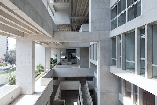 Universidad de Ingeniería y Tecnología, Grafton Architects + Shell Arquitectos. Photo: Iwan Baan - Courtesy of Grafton Architects.