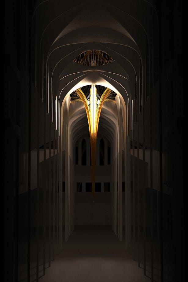 Notre Dame's Spine_OF STUDIO_Concept_Image_Interior
