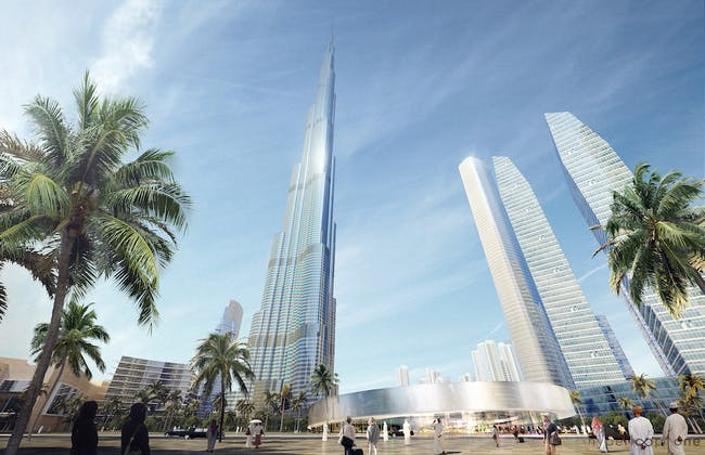 Portal design for Hyperloop One's Dubai proposal, courtesy of Hyperloop One.