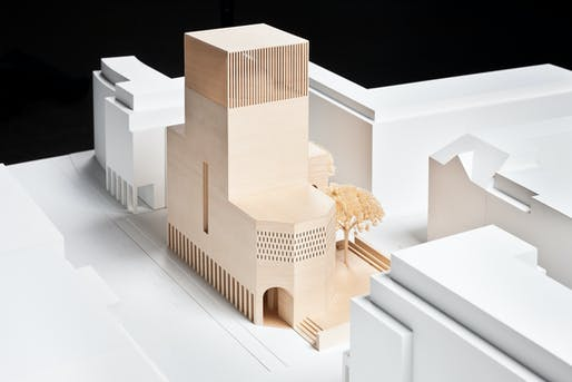Architectural model of House of One © Michel Koczy / Betund Lehrhaus Petriplatz Berlin e.V.