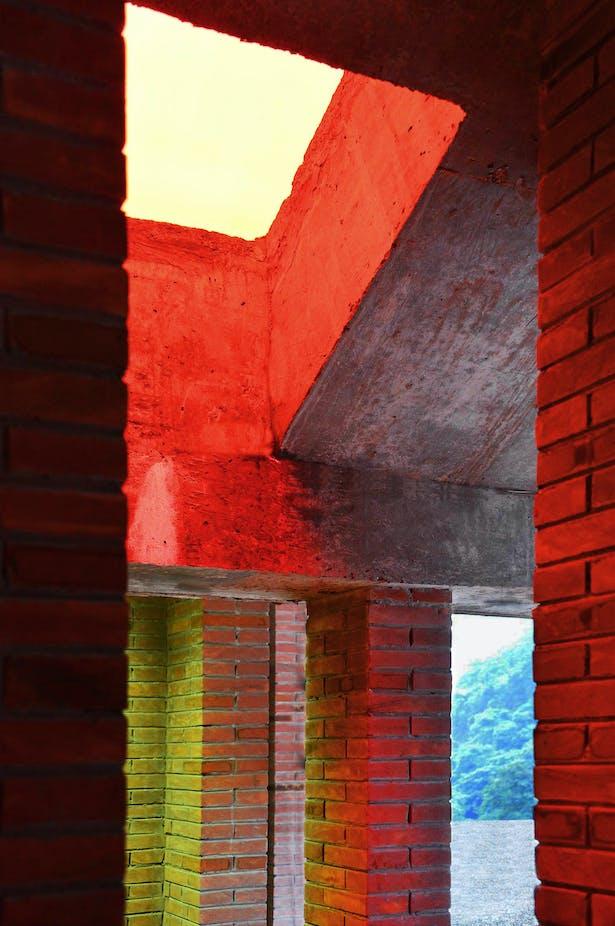 Dense Assembly of Stone Pillars Credits: West-line Studio