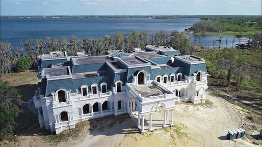Versailles house, the 85,000 square-foot house belonging to Westgate Resorts founder David Siegel and his wife Jackie Siegel