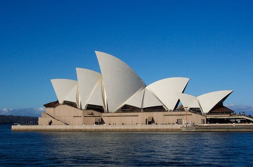 '...There are few urban projects of any scale that haven't felt the Arup influence,' writes Wainwright. Pictured is the Sydney Opera House, via wikimedia.org