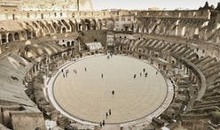 Take a look at the newly unveiled high-tech floor for the Colosseum arena in Rome