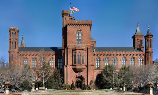 The Smithsonian Building in Washington D.C. Image courtesy of Wikimedia user Noclip.