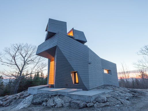Gemma Observatory; New Hampshire by Anmahian Winton Architects. Photo: Anmahian Winton Architects and Client
