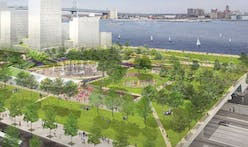 Where does Philadelphia's I-95 cap park stand?