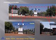 Hubli Airport Entrance Design (2017)