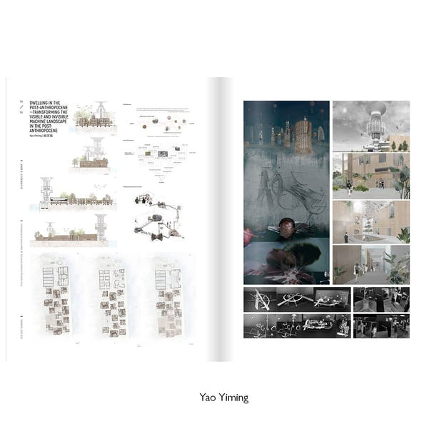 In Dialogue with Nature: Architecture for the Post-Anthropocene. Tutored by: Claudia Westermann. XJTLU, ARC304, FYP Studio 2019-20. Work by Yao Yiming.