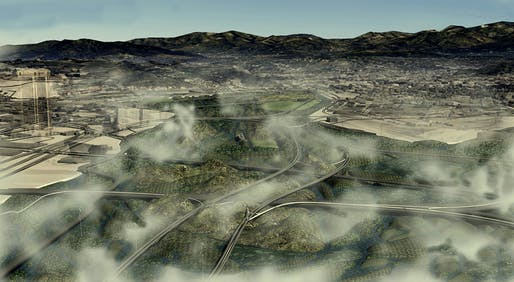 from the 'Lagoonous Assemblage : Antifragile Urbanism for a dry Los Angeles' proposal by Tanzil Shafique.