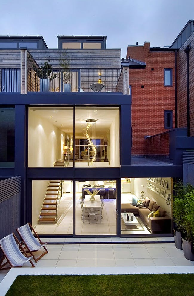 Private client in Crouch End, London, UK by LLI Design (interior design)