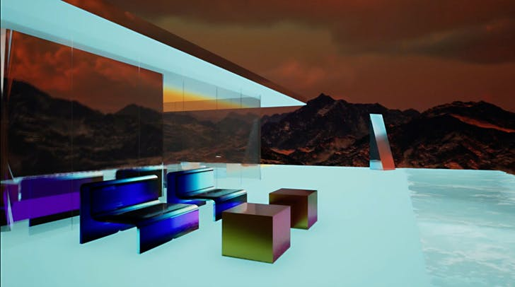 Mars House by Krista Kim