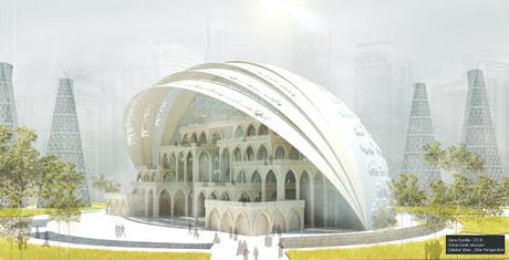 Dubai Creek mosque Competition entry