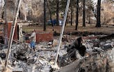 Building codes prove effective in limiting damage from wildfires in California