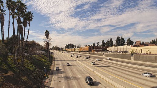 134 West freeway in Los Angeles. Image: WikiCommons.