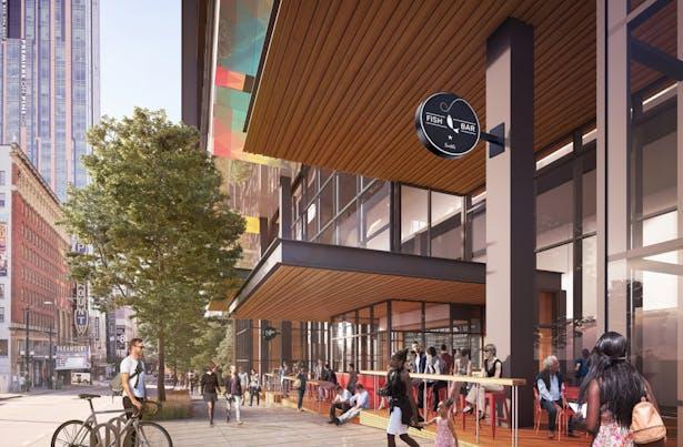Washington State Convention Center Addition / LMN Architects