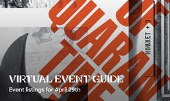 Online events today include Geoff Manaugh, Vishaan Chakrabarti, Dror & Bruce Mau, Studio Libeskind, and Ignacio G. Galán