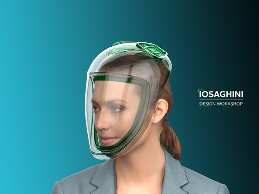 The face mask. Image courtesy of Iosa Ghini Associati