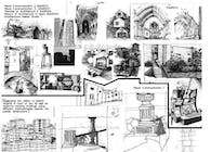 Scanned Projects I drafted by hand