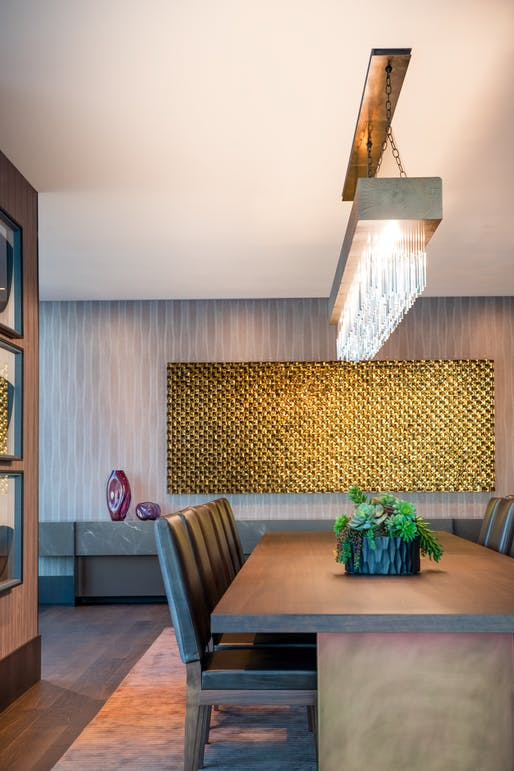 The Avery Dining Room by Michael Curry Mosaics. Image courtesy CODAawards