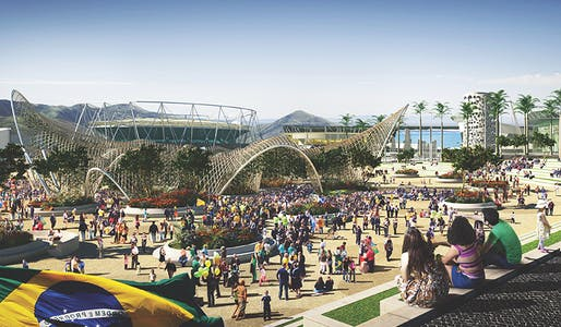 Rio de Janeiro will be the site of the 2016 Olympic Games, the first South American city to host the event. Part of the Olympic Park will be gradually transformed into a sustainable and accessible new residential neighborhood. (Urban Land; Photo Courtesy of RIO2016)