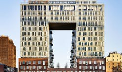 First glimpse at the Domino Sugar Factory's new residential building, designed by SHoP Architects