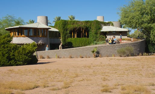 "The David and Gladys Wright House in Phoenix, Arizona in 2012. Photo: Derrick Bostrom/<a href=""https://www.flickr.com/photos/bostworld/8065030818/"">Flickr</a>"