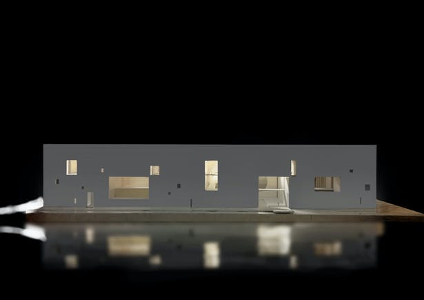 Conceptual model-night scene ©Studio Zhu-Pei