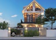 Mẫu thiết kế biệt thự độc đáo tại Tam Kỳ, Quảng Nam