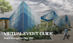 Today's Virtual Events cover issues of smart cities, design education, and the architecture of healthcare