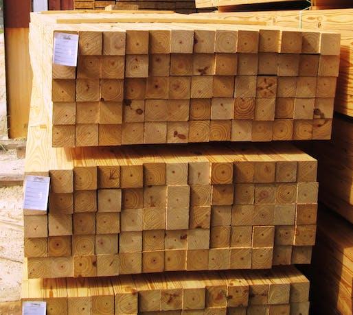 A stack of 4 X 4s. Image: dixonlumber.com