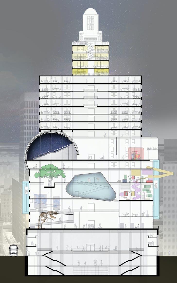 Expedition Superman, Nameera Najib. Image courtesy of RISD Interior Architecture