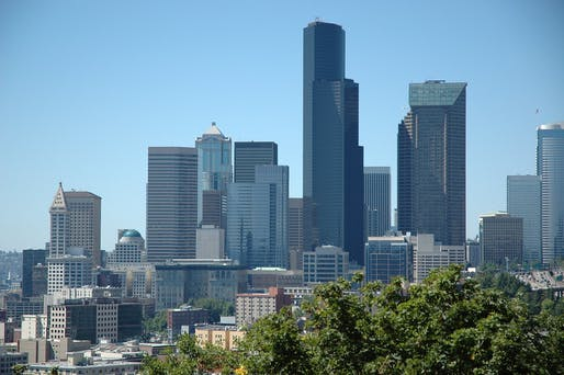 Downtown Seattle. Image courtesy of Wonderlane.