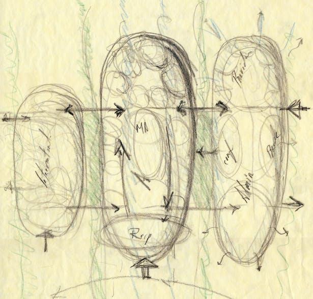 Preliminary sketch.