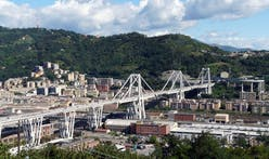 "Renzo Piano bridge in Genoa designed to ""last 1,000 years"" is nearly finished"