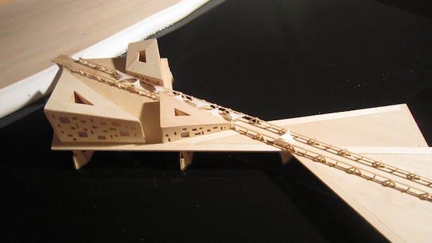 Urbanized Bridge 3-Hand Made-24'x 48'