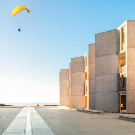 Salk Institute, by Louis Kahn. Photographed by Darren Bradley (@modarchitecture)