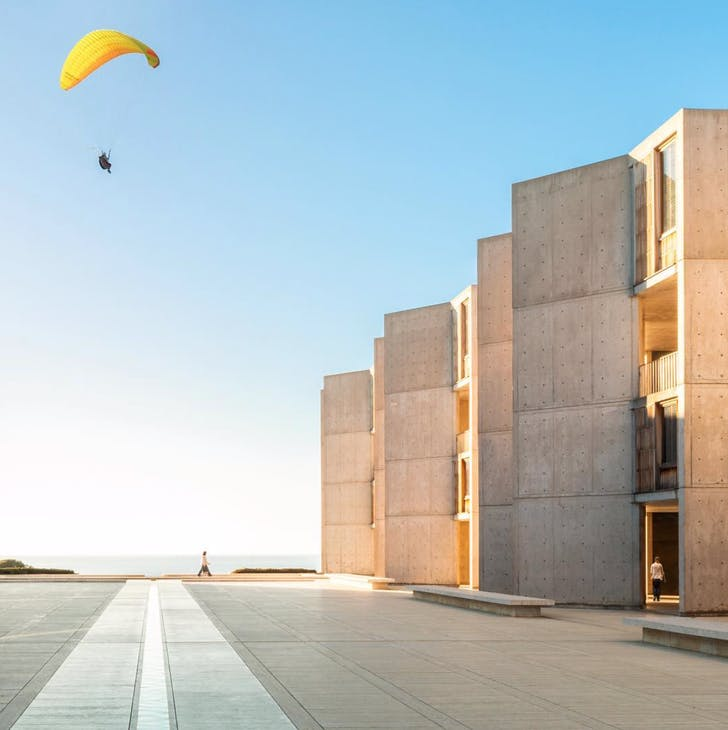 Salk Institute, by Louis Kahn. Photographed by Darren Bradley (@modarchitecture)