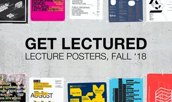 The current Fall '18 lecture poster vote frontrunners are...