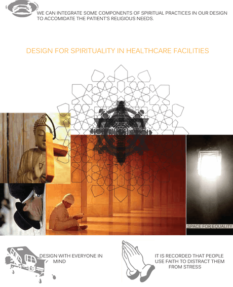 research on spiritual design in healthcare facilities