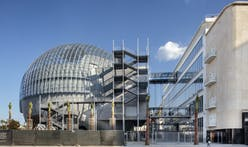Academy of Motion Pictures releases new construction photos of Renzo Piano-designed museum
