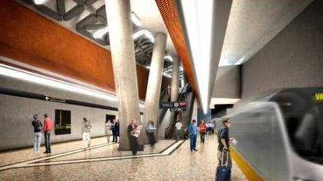 Steeles West Station (TTC), Will Alsop Architects