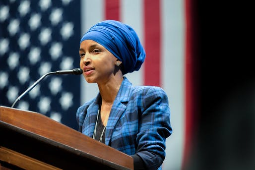 Rep. Ilhan Omar has unveiled a plan to transform public housing construction in the United States. Image courtesy of Flickr user Lorie Shaull.