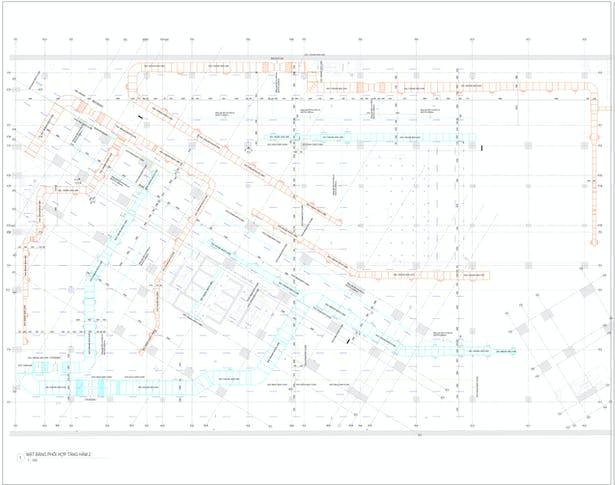 BIM MEP Case study | MEP Coordination for D'Capital project | ViBIM