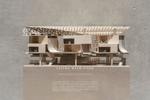 From the portfolio of architecture student De Qian Huang, a 2021 Kohn Pedersen Fox Traveling Fellow. Image courtesy of KPF.
