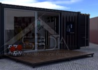 Container Pop Up Shop Idea in New York