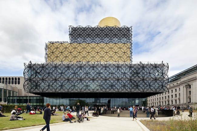 Library of Birmingham by Mecanoo. Photo courtesy of 2014 Stirling Prize