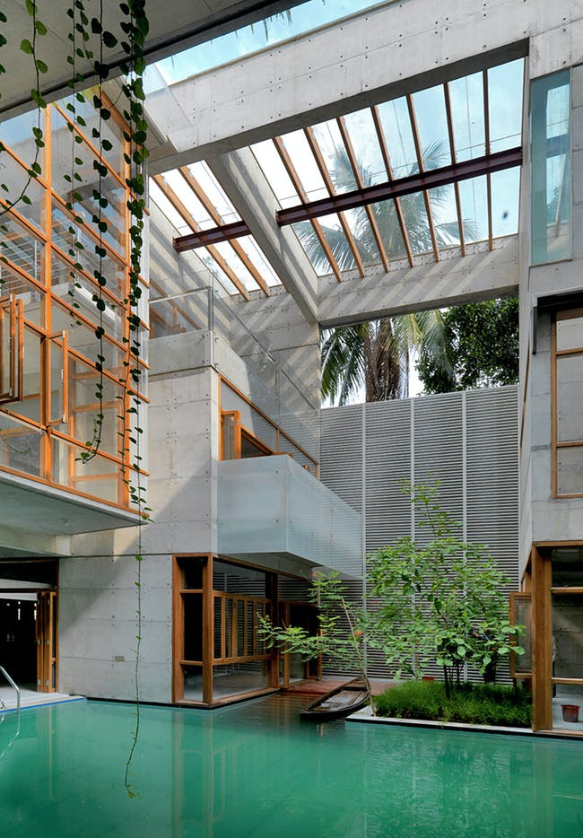 Residential Building of the year award (multiple occupancy): Rafiq Azam with S.A Residence, Dhaka, Bangladesh